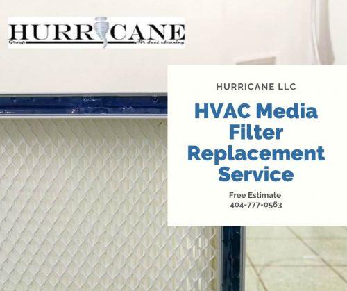 HVAC Media Filter Replacement Service